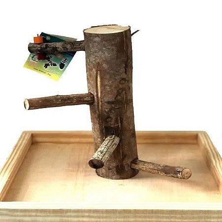 Brinquedo De Maderia Para Aves Poly Play G Toy For Bird