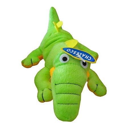 Brinquedo De Pelúcia Crocodilo Para Pets Chalesco