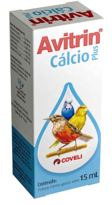 Avitrin Cálcio Plus - 15 ml
