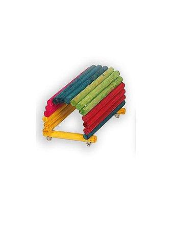 Toca Colorida Para Coelho Big Toys
