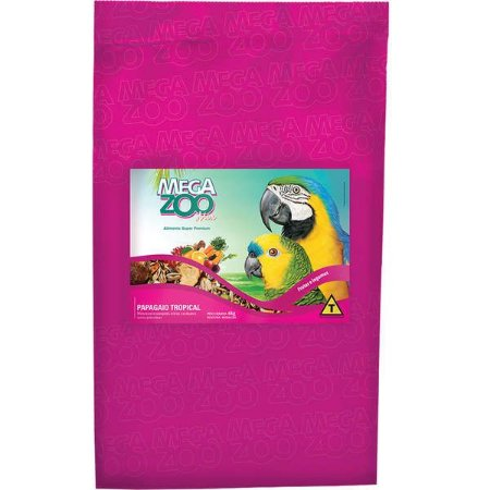 Alimento Para Papagaio Megazoo Mix Tropical 6kg
