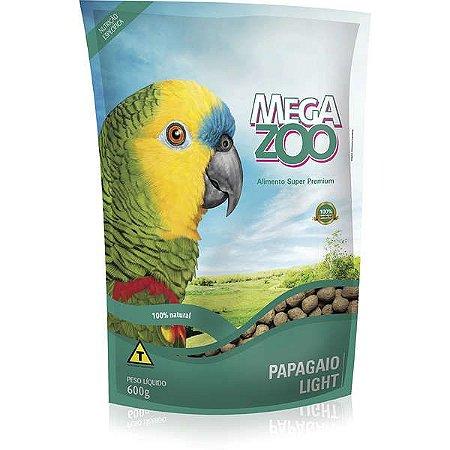 Alimento Extrusado Para Papagaio Megazoo Light 600g