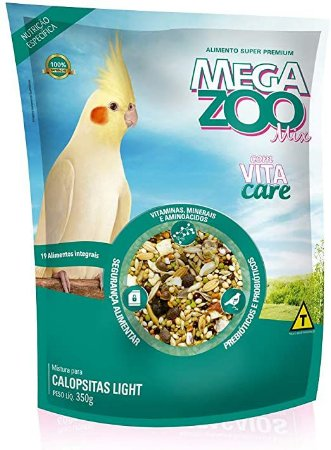 Alimento Integral Para Calopsita Megazoo Mix  Light 350g