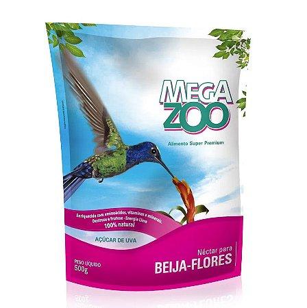 Alimento Néctar Para Beija-Flores Megazoo 500g