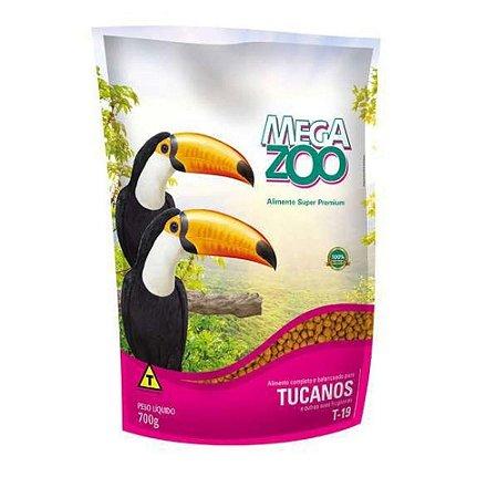Ração Extrusada Para Tucanos Megazoo (T19)  700g