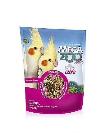 Alimento Integral Para Calopsita Megazoo Mix  350g