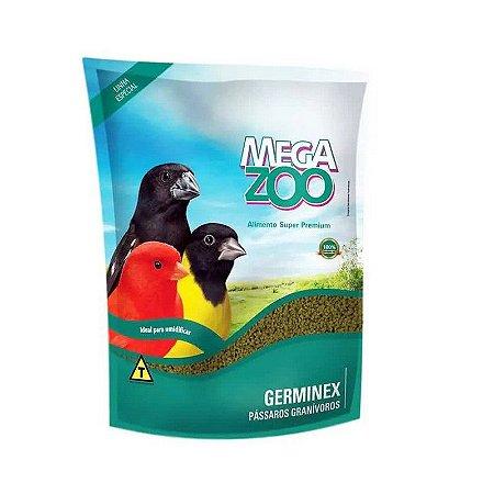 Alimento Extrusado Para Aves Granívoras Megazoo Germinex 350g