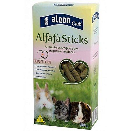 Alimento Extrusado Para Roedores Alcon Club Alfafa Sticks 500g