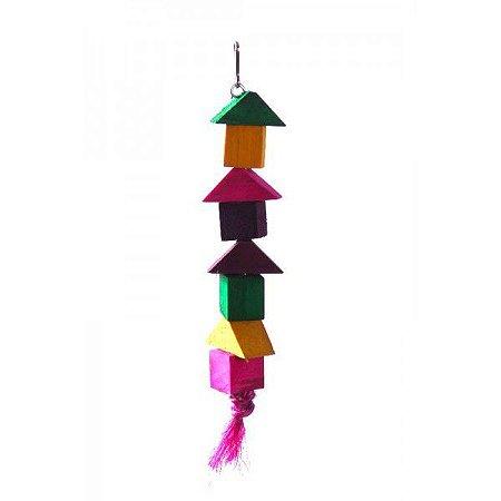 Brinquedo Bastão Triângulo Para Aves Still Pet