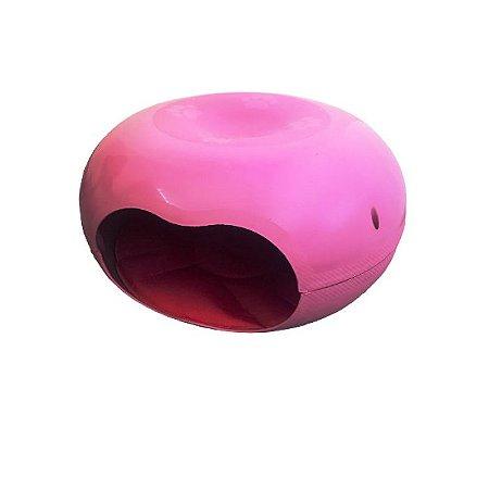 Cama Toca Para Coelhos Donuts Rosa