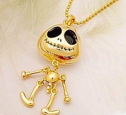 """Colar Caveira - """"Jack o esqueleto"""""""