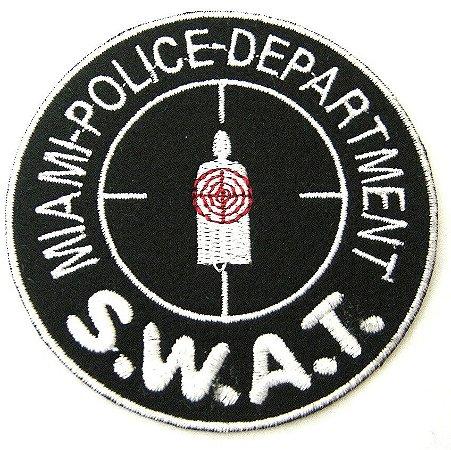 Patch Bordado Termocolante Swat