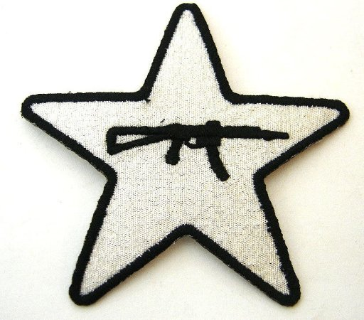 Patch Bordado Termocolante Star