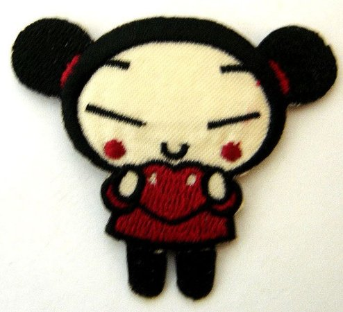 Patch Bordado Termocolante Pucca