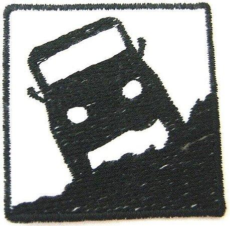 Patch Bordado Termocolante Jipe Off Road