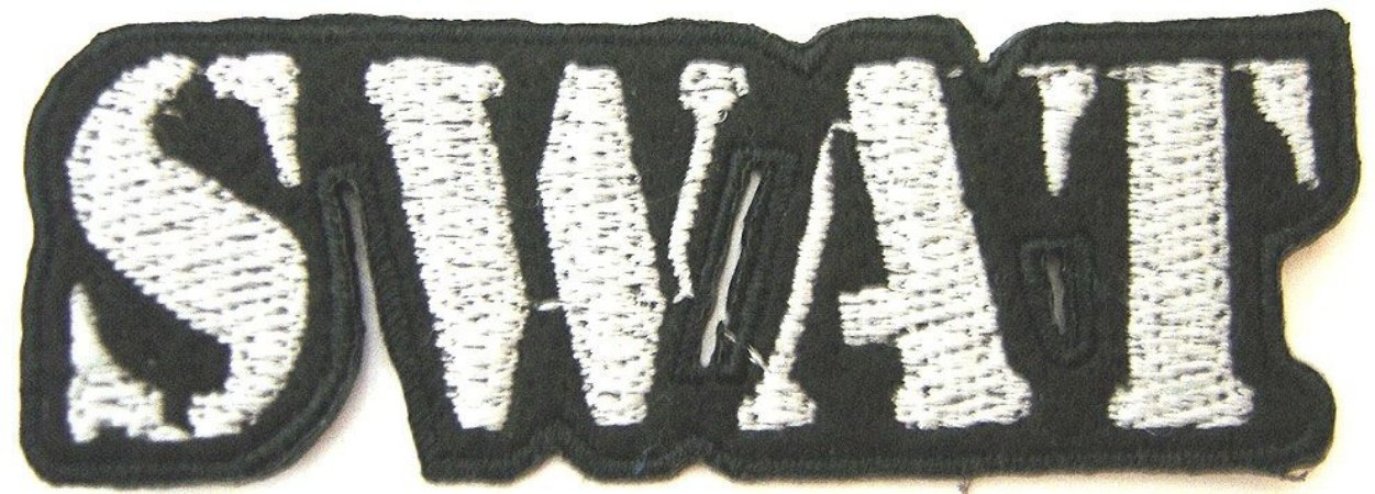 Patch Bordado Termocolante Swat