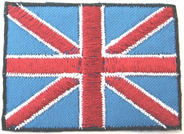 Patch Bordado Termocolante Inglaterra