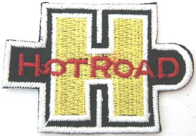 Patch Bordado Termocolante Hot Road