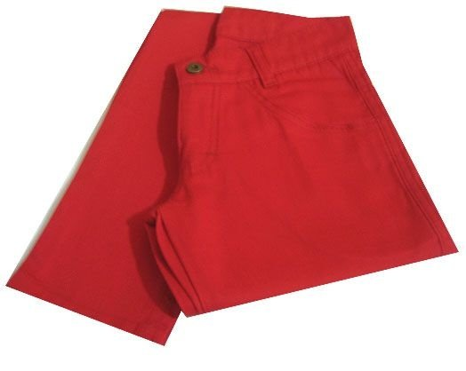 Calça Skinny Vermelha Vittrini Rock