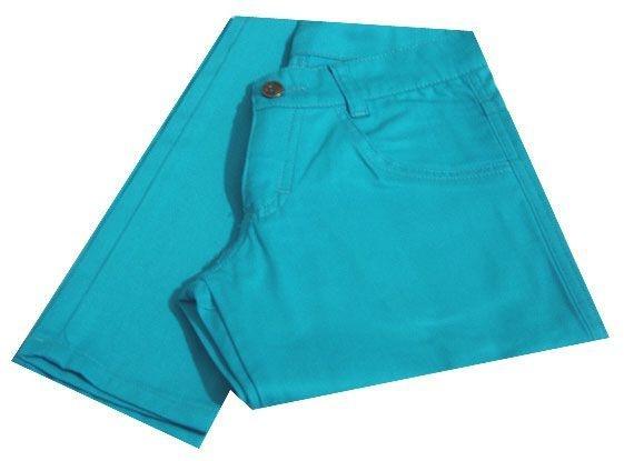 Calça Skinny Azul Clara