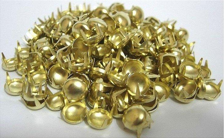 Rebite Tachas Dourado para customização
