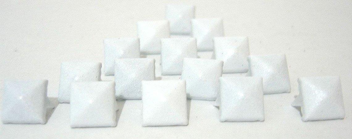Piramide Branca para customização 250 peças