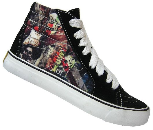Tênis Mad Bull Hi Top Skull