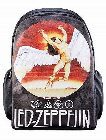 Mochila Led Zeppelin Punk Rock Madstar Pronta Entrega!