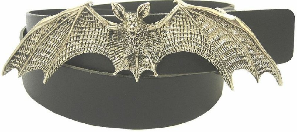 Cinto Madstar Morcego Fivela Removível