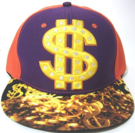 Boné Aba Reta Money  Snapback / Flex