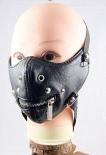 Mascara Hannibal III Madstar Couro Punk Rock