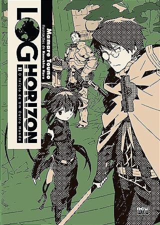 Log Horizon - Livro 01