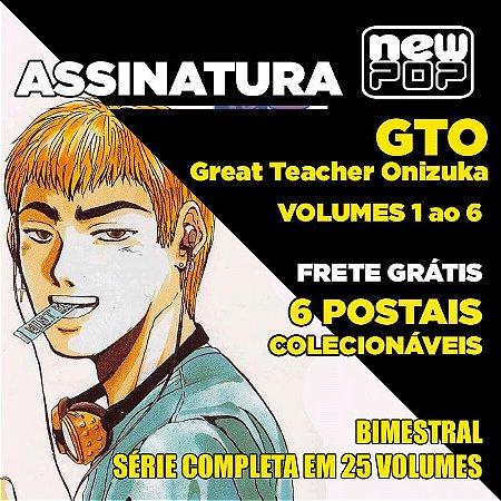 Assinatura: GTO (Volumes 1 ao 6)