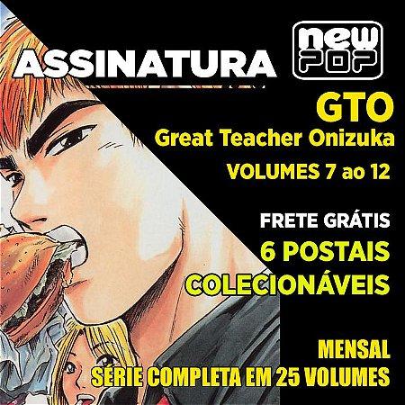 Assinatura: GTO (Volumes 7 ao 12)