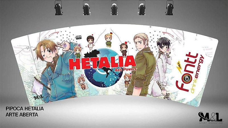 Combo Oficial Hetalia (Balde + Copo)
