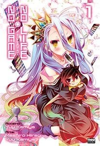 No Game No Life Mangá Vol. 01