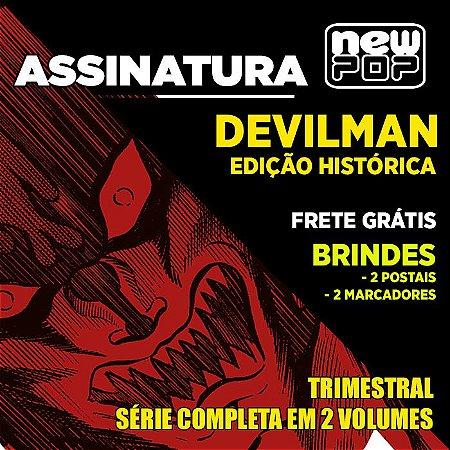 Assinatura: Devilman (Edição Histórica) - com Brindes