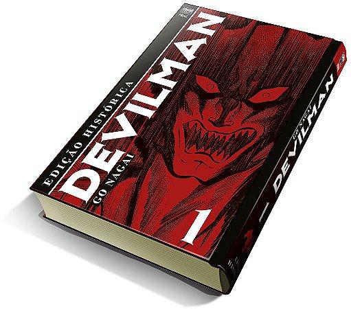 Devilman vol. 1 (Edição Histórica) com marcador de página (Pré-Venda)