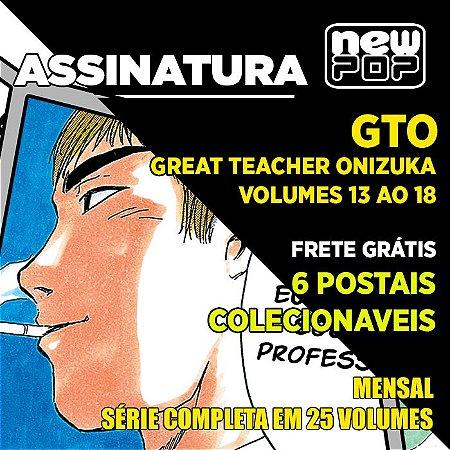 Assinatura: GTO (Volumes 13 ao 18)