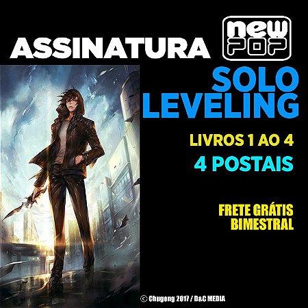 Assinatura: Solo Leveling (Livros 1 ao 4 - Parte 1)