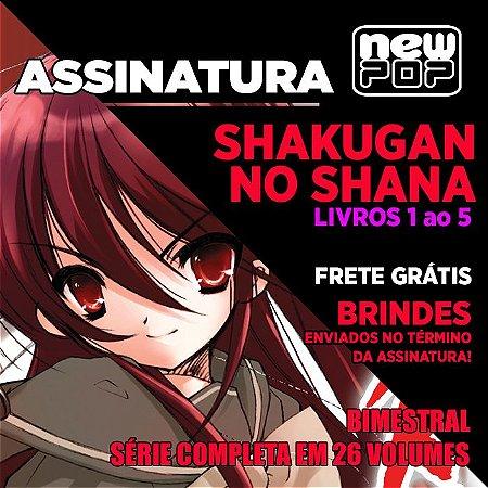 Assinatura: Shakugan no Shana (Livros 1 ao 5)