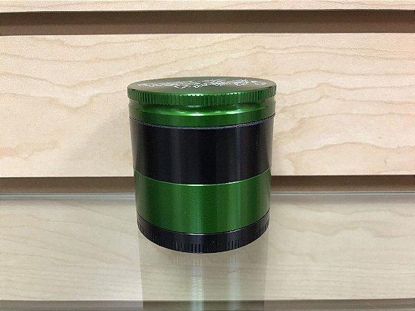 Dichavador 53mm Magnético 4 Partes Philadelphia Verde e Preto - Santa Cruz