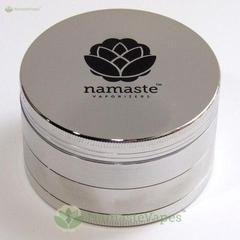 Dichavador 75mm Magnético 4 partes prata - Namaste