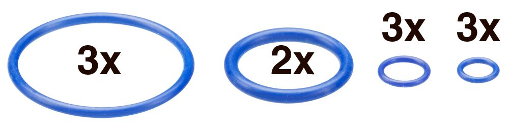 Anéis de Vedação - Crafty