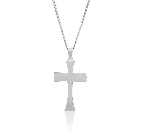 Corrente de Aço Masculino Cruz da Ressurreição - CA24