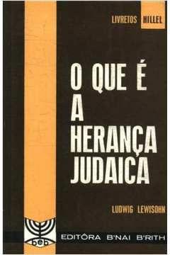 O Que é a Herança Judaica - Ludwig Lewisohn