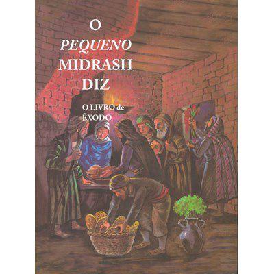 O Pequeno Midrash Diz (2) - Êxodo  - Capa Brochura