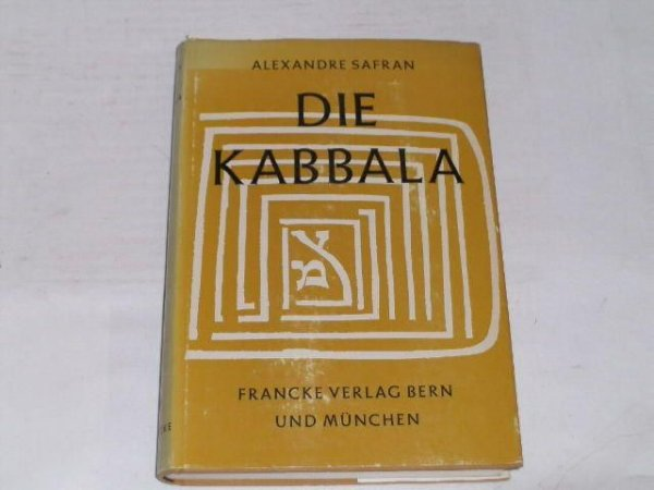 Die Kabbala - Alexandre Safran