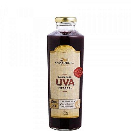 Suco de Uva Integral Kosher (500mL) Casa Madeira