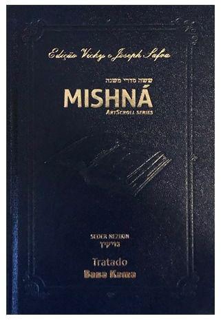 Mishná em hebraico e português - Ordem NEZIKIN - Tratado Baba Kama